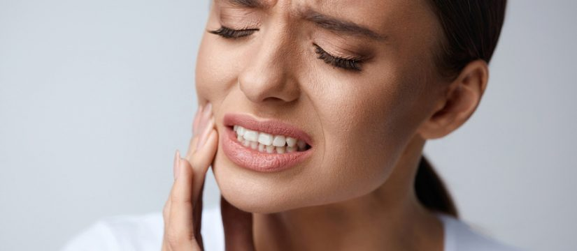 dealing with tooth pain